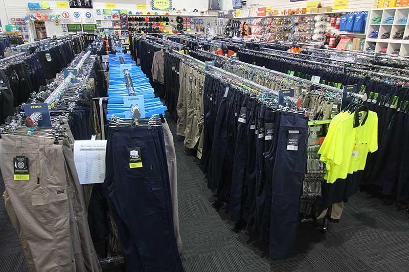 Tradies Workwear Adp Store Fixtures