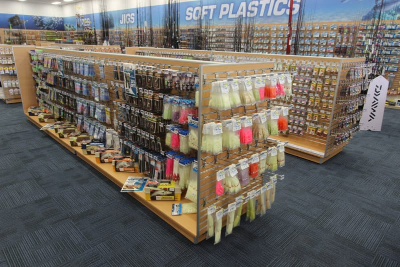 ADP Store display shelving example