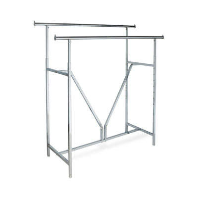 Heavy Duty Double Bar Rack & Accessories