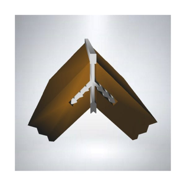 stickman linear corner protection profile (AP8007)