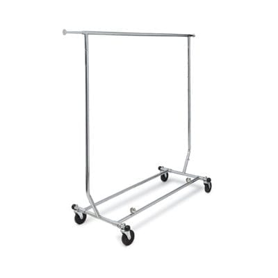 Collapsible Single & Double Rail Clothing Racks