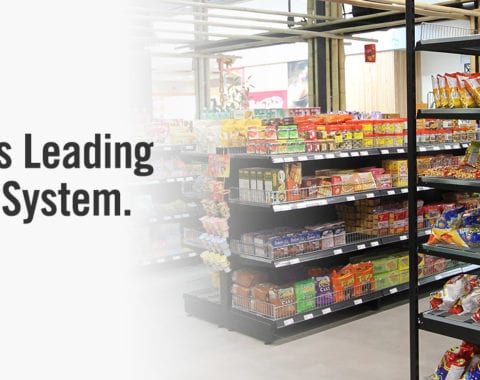 ADP Store supermarket shelving