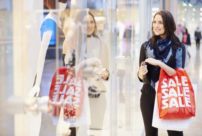 shopper of retail displays