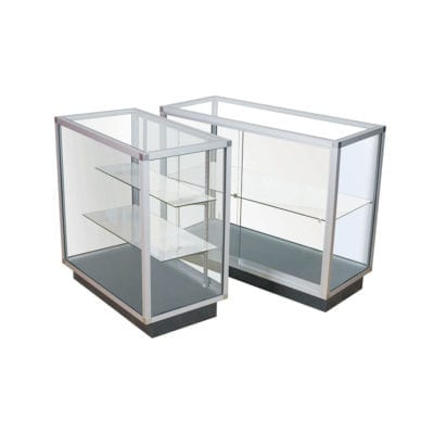 Glass Display Cabinets & Showcases