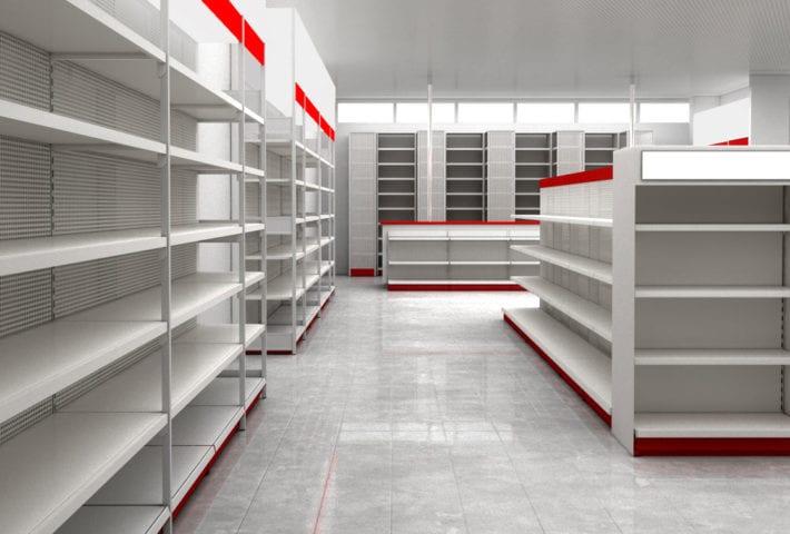 australian built retail shelving