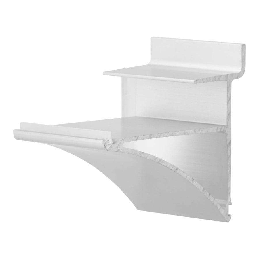Slatwall Aluminium Shelf Bracket 50mm AP891-2
