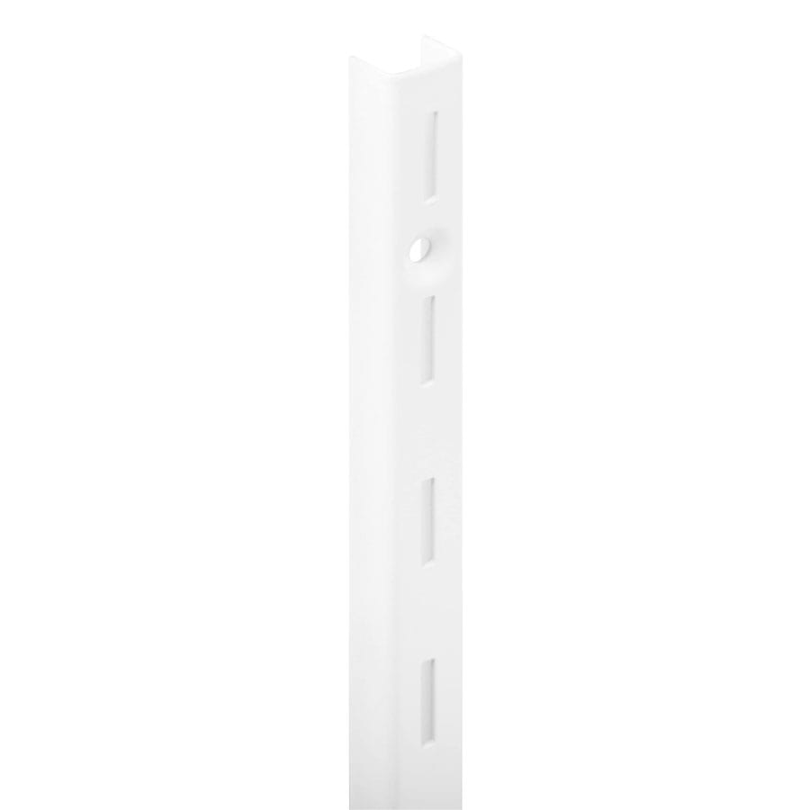 Slotted Wall Stripping – Single Slot White