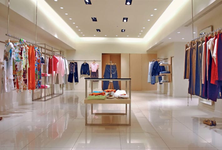 use of shop fit out correctly