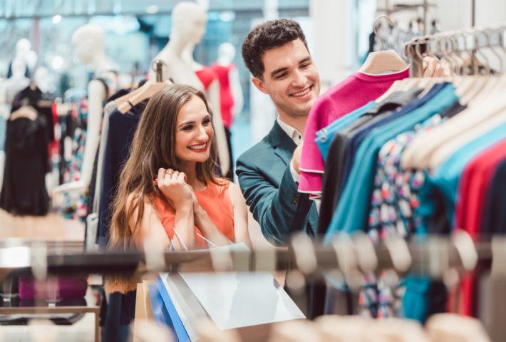 setting up fashion store