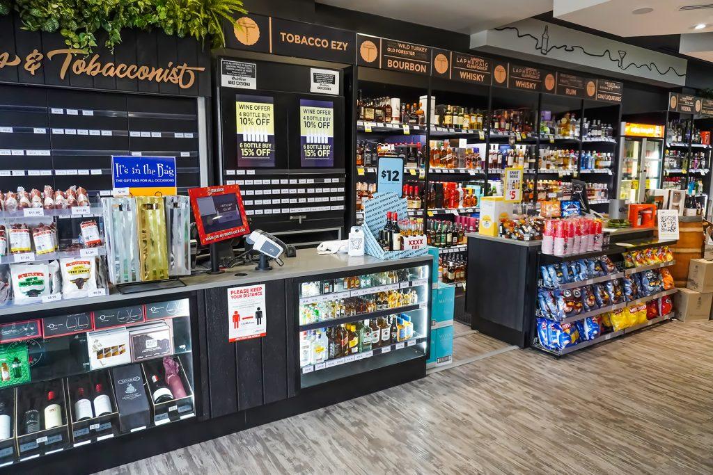 Liquor Store renovation STORE FIXTURES