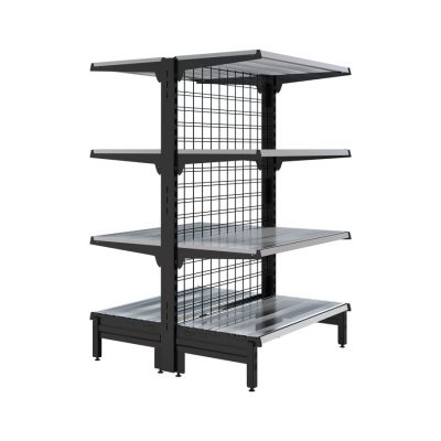 double sided 1500mm with shelves