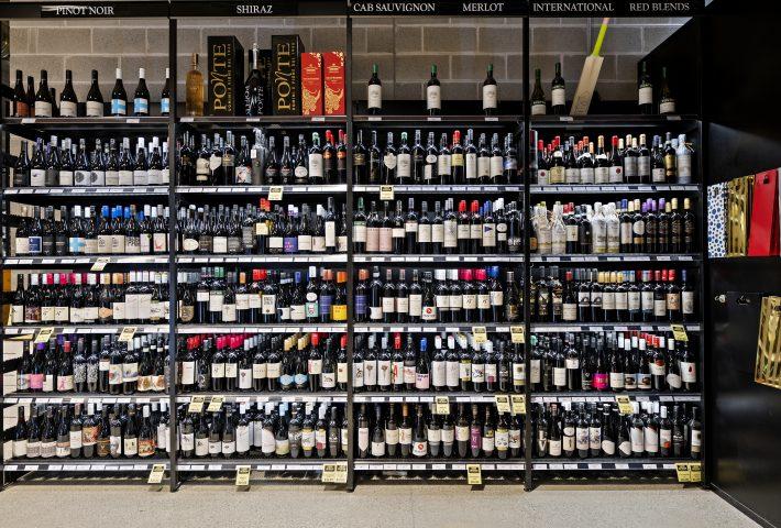 shelf management for liquor store